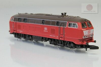 Z 1:220 Märklin Locomotive 218 DB LED`s red~yellow Marklin miniclub trains