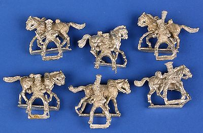 French Guard Lancers 28mm Metal Perry Miniatures