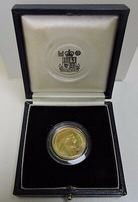Excellent PROOF 1977 Cyprus GOLD £50 Coin Makarios III GOLD (70619)