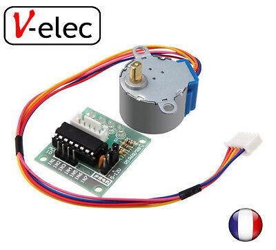 5V 4-Phase Stepper Step Motor 28BYJ-48 + Driver Board ULN2003 v-elec