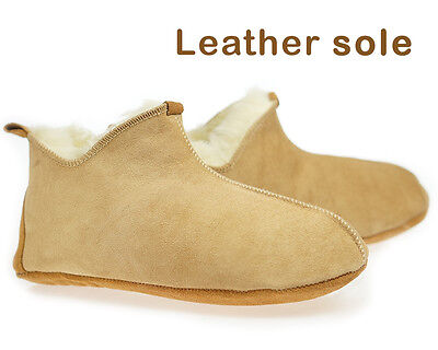 Leather Toscana Slippers Women, Sheepskin Moccasins womens, 100% Wool slippers