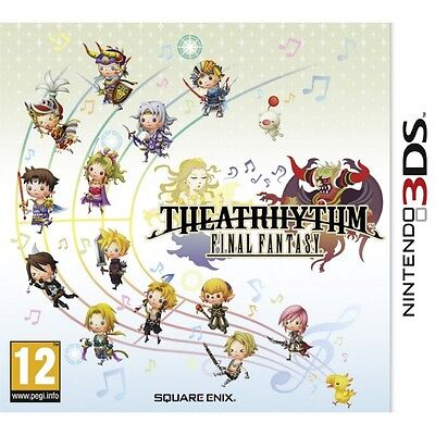 Theatrhythm Final Fantasy Game 3DS Brand New