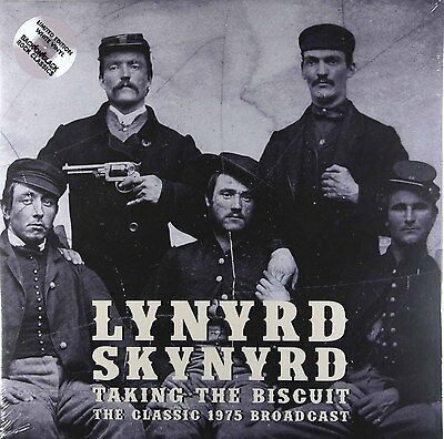 Lynyrd Skynyrd - Taking The Biscuit (Limited 2 x White Vinyl) New & Sealed