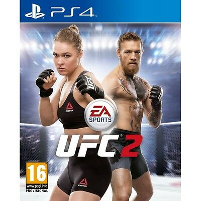 EA Sports UFC 2 PS4 Game Brand New