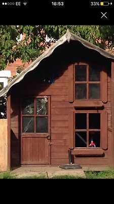Wooden Wendy House Play House