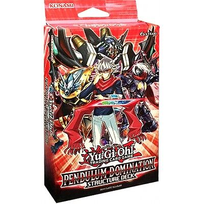 Yu-Gi-Oh! TCG Pendulum Domination Structure Deck Brand New