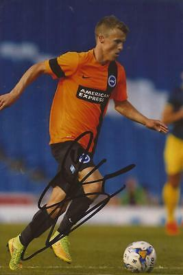 BRIGHTON: SOLLY MARCH SIGNED 6x4 ACTION PHOTO+COA