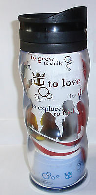 ROYAL CARIBBEAN COKE Tall Insulated Travel Drinking Cup/Mug Coca-Cola