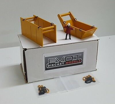 Evot - Bedding & Trench Box Set. Authentic Old Cat Yellow. 1:50th - 1:48th.