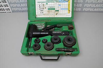 Greenlee Quick Draw 90 Hydraulic Knockout Punch Driver Kit 7904SB