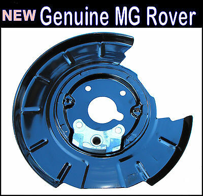 ROVER 75 or MG ZT - LEFT REAR BRAKE BACK PLATE-SMF100201 New & Genuine