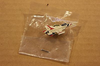 Us Air Force Thunderbirds F-16 Falcon Hat Pin
