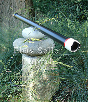 Shakuhachi flute PVC (56.5cm C#) Helpful aid to meditation and zazen.