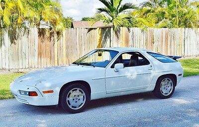 1987 Porsche 928 2 Door Coupe MINT!! 928 S4 32 valve Package Tons of  Service History  ALL original