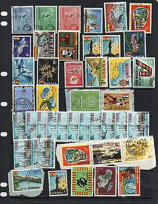 Ghana used stamps (lot 6)