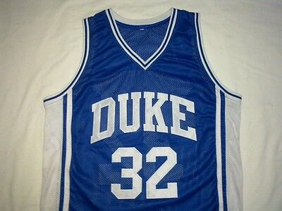a5fbb72c4a2 CHRISTIAN LAETTNER DUKE Blue Devils Blue Basketball Jersey Gift Any Size