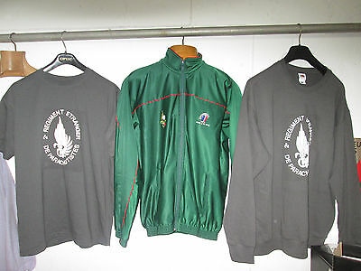 French Foreign Legion - 2 REP 4cie-company - set size L  sweat +t shirt +jacket