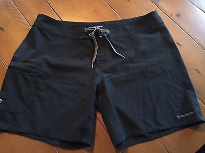 Patagonia Women's Black Board Hiking Swim Shorts Suit Size 8 GREAT CONDITION!!!