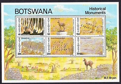Botswana Historical Monuments MS SG#MS405 SC#192a