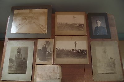 7th Cavalry Military Photos from Camp Columbia, Cuba- Quemodas & Area - Grouping