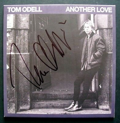 """Tom Odell 'another Love' 2013 Signed 7"""" Vinyl Single"""