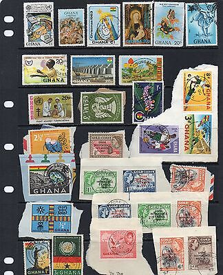 Ghana used stamps (lot 9)