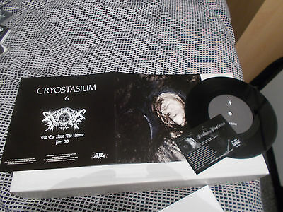 "Cryostasium / Xasthur split 7"" EP ltd 1000 copies 2007 RARE!"