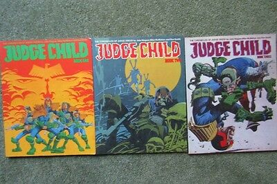 Judge Dredd: Judge Child Book One, Two & Three