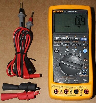 Fluke 789 Processmeter Process Meter - Excellent Condition!!!