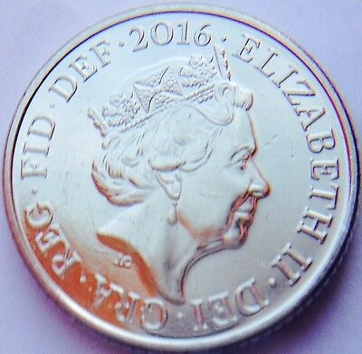 Brilliant circulated 10p Ten Pence Coin Year 2016