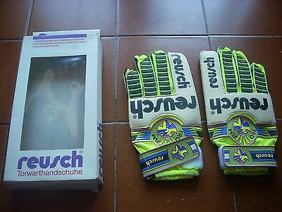Deadstock Rare Original Reusch Pro Am 011 Goalkeeper Gloves 9.5 1990 Bnib New