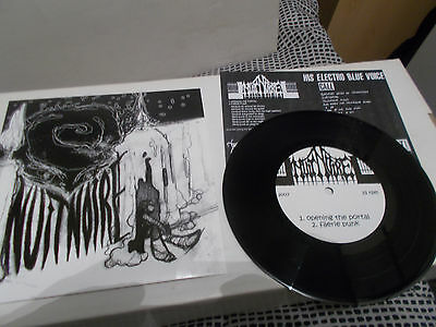 NUIT NOIRE / His Electric Blue Voice Split EP Ltd 489 copies FRENCH BLACK METAL