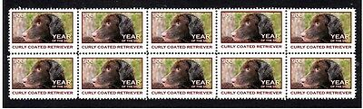 Curly Coated Retriever Year Of The Dog Stamp Strip 1