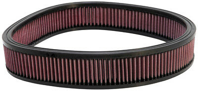 "E-3735 K&N Custom Air Filter 14""OD,12-11/16""ID,2-1/2""H (KN Round Replacement Fil"