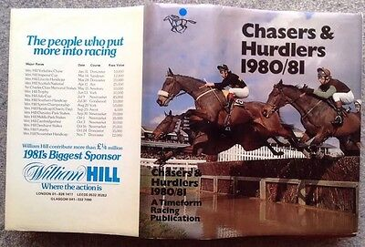 Chasers and Hurdlers 1980/82. Timeform Racing. 948 Page Hardback. Illustrated.