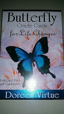Brand new butterfly oracle cards by Doreen Virtue