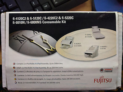 Consumable Kit 2 Rollers & 4 Pads for Fujitsu fi-5120C/5220C - CON-3289-003A