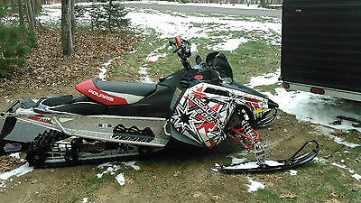 "2012 Polaris Assault 800 Snowmobile, 144"" track"