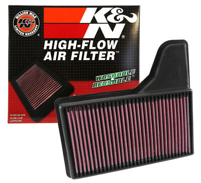33-5029 K&N Replacement Air Filter  - FORD MUSTANG 3.7 V6 / GT 5.0 V8 2015-