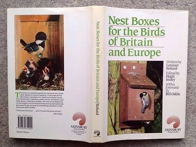 Nest Boxes for the Birds of Britain and Europe. Bolund. 1987 1st Edn. 211p H/b