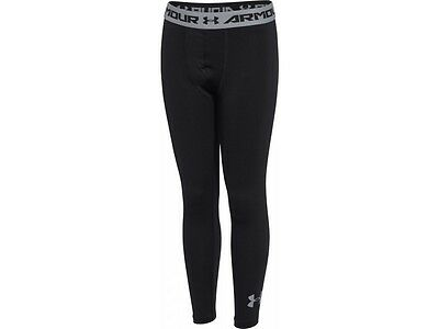 Under Armour HeatGear Armour Junior Long Running Tights SIZE 13 YEARS