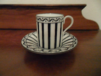 RARE COALPORT COFFEE CAN AND SAUCER Rd 646573 PATTERN 7986/