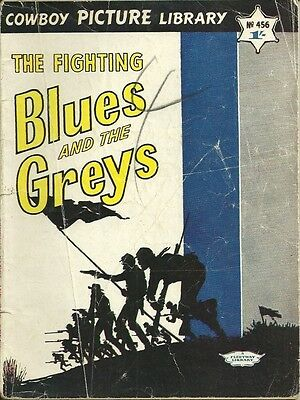 Cowboy Picture Library 456 The Fighting Blues...