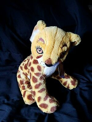 "Girl Scouts Plush Cheetah Amaze 12"" Little Brownie Bakers Stuffed Animal"