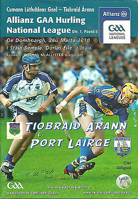 Tipperary V Waterford 2010 National Hurling League