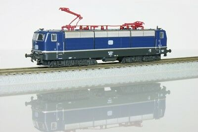 Rokuhan 97104 Z Gauge E-locomotive BR 181 206-4 blue era IV