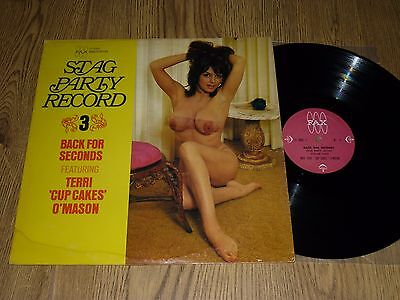 "TERRI ""CUP CAKES"" O'MASON - Stag Party Record 3 - US LP FAX 6008"