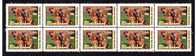 Bloodhound Year Of The Dog Strip Of10 Mint Stamps #4