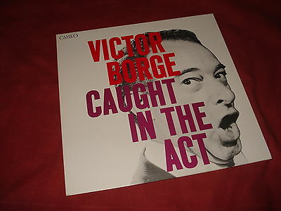 VICTOR BORGE Caught in the act LP REISSUE COMEDY EX/EX