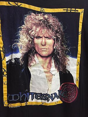 Whitesnake Concert Tshirt - Original - Vintage 1990 Slip of the Tongue Tour -NEW